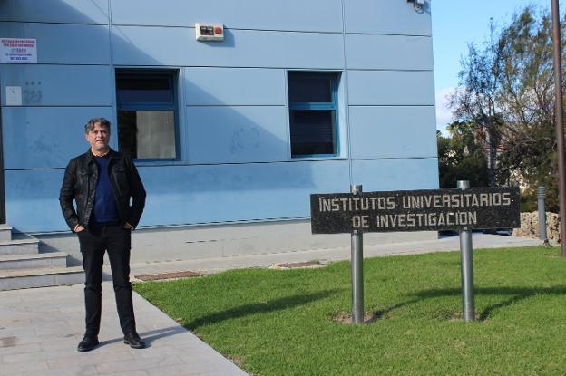 José Francisco Aldana encargado de coordinar el programa EnBiC2-Lab.